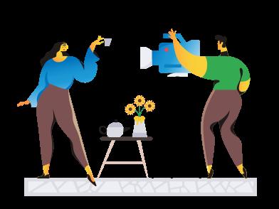 Иллюстрация Рекламное объявление в стиле  в PNG и SVG | Icons8 Иллюстрации