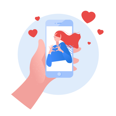 style Chatting with girlfriend images in PNG and SVG   Icons8 Illustrations