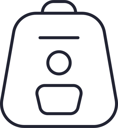 style バックパックホワイト images in PNG and SVG   Icons8 Illustrations