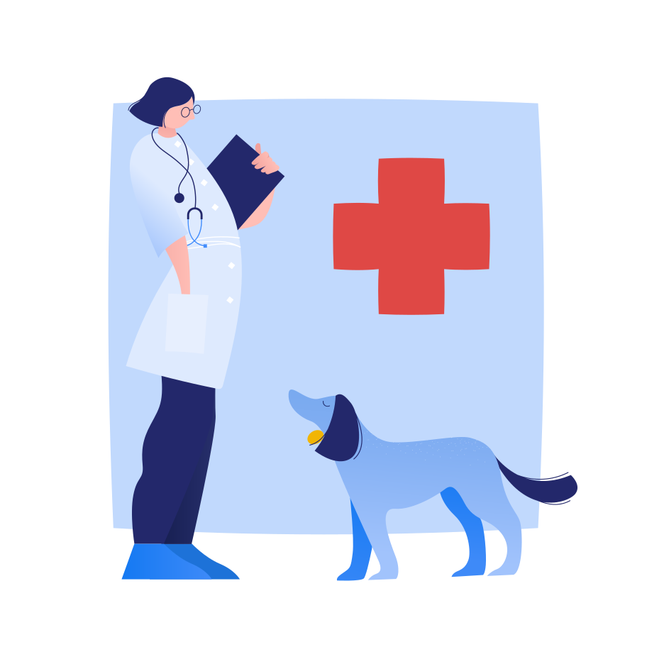 Veterinary clinic Clipart illustration in PNG, SVG