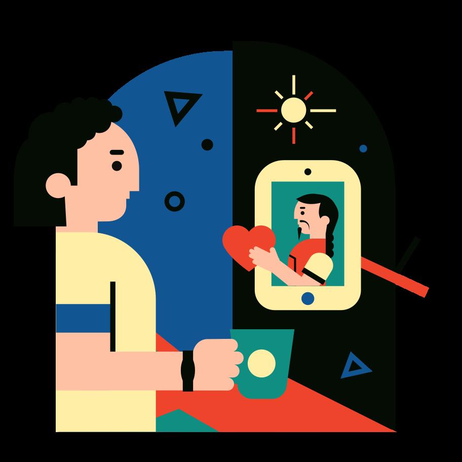 Online world 1 Clipart illustration in PNG, SVG
