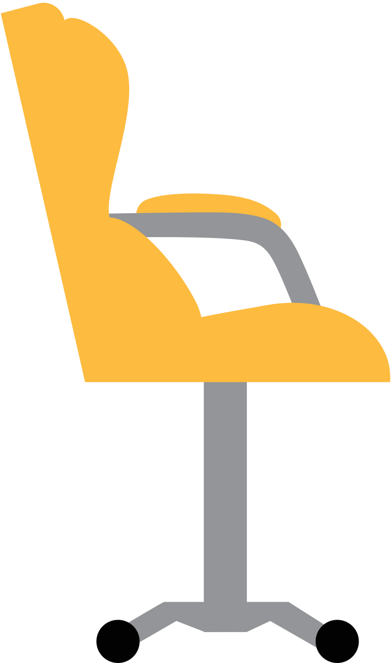 gamer chair Clipart illustration in PNG, SVG