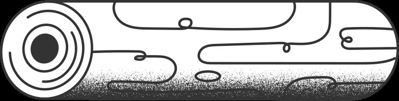 Ilustración de clipart de log en PNG, SVG