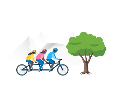 style Biking  images in PNG and SVG | Icons8 Illustrations