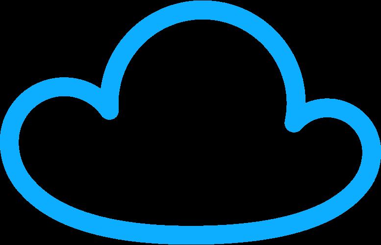 r cloud Clipart illustration in PNG, SVG