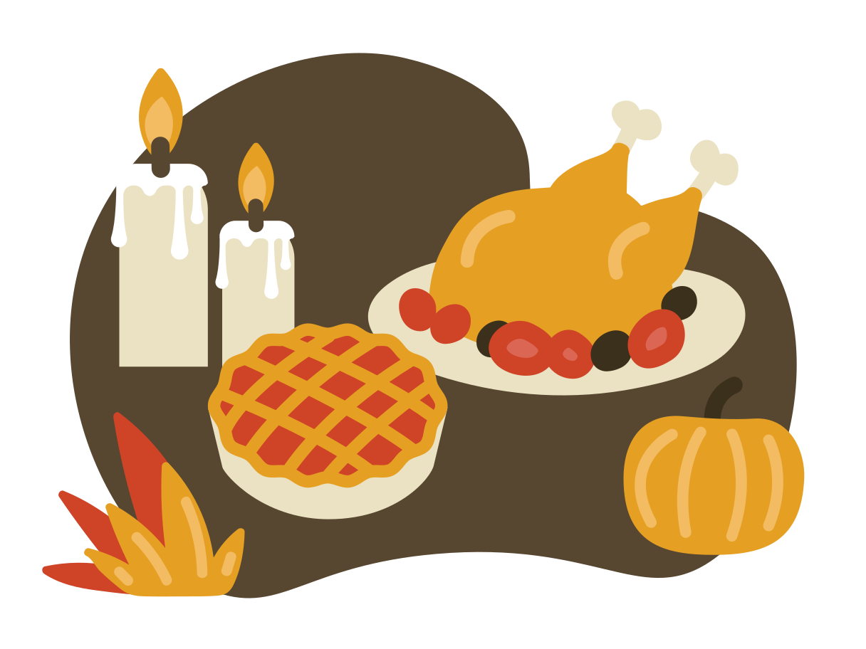 Thanksgiving Day Clipart illustration in PNG, SVG