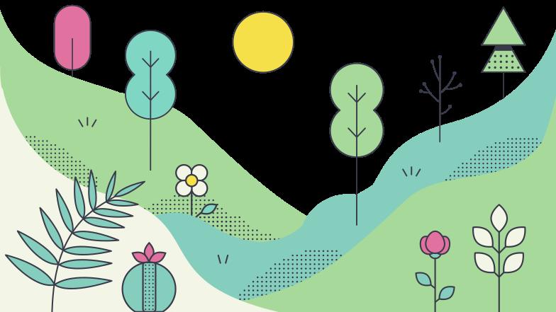 Nature Clipart illustration in PNG, SVG