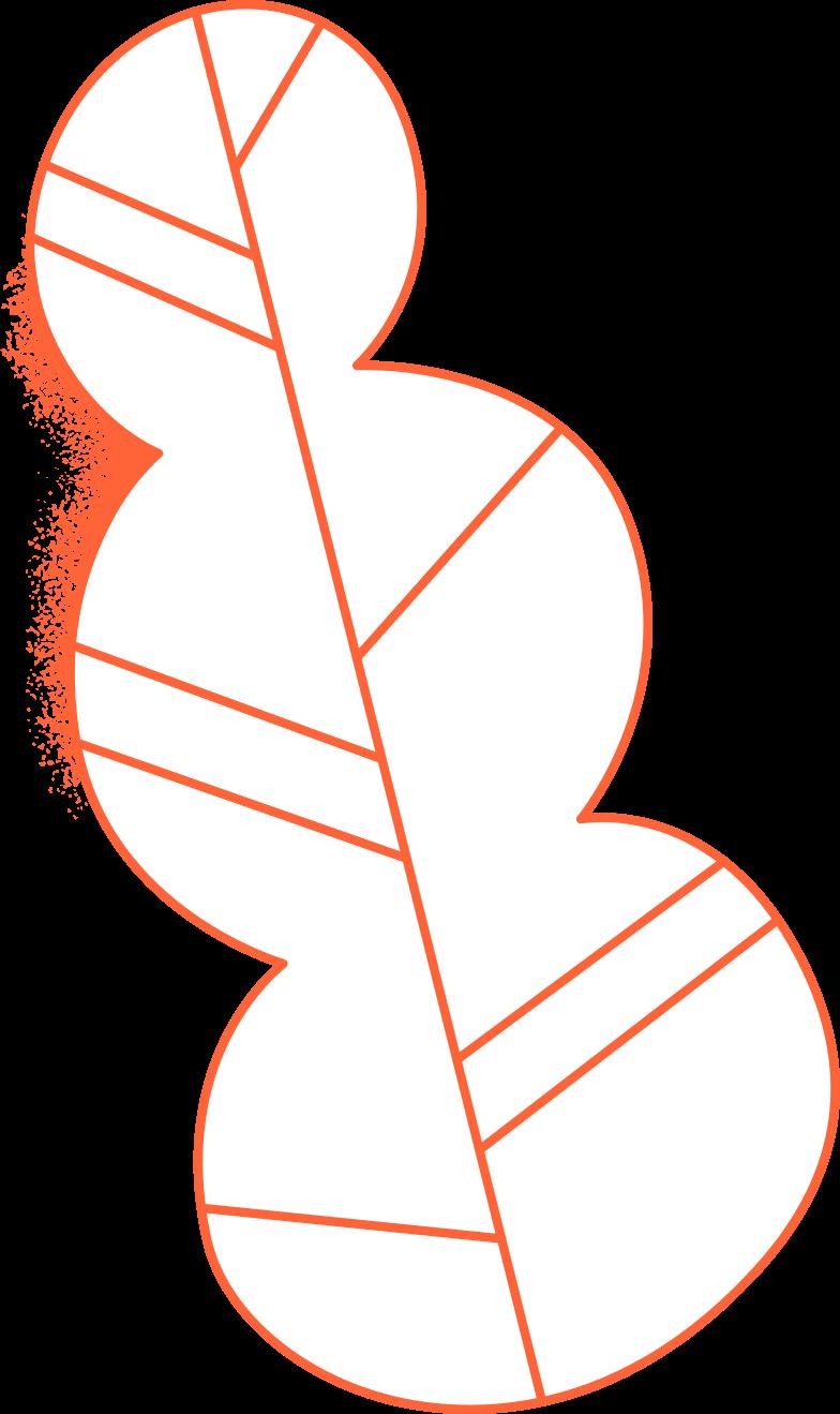 delete confirmation  leaf Clipart illustration in PNG, SVG