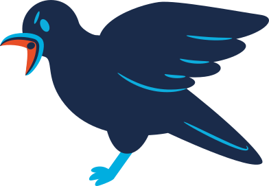 style raven screaming images in PNG and SVG | Icons8 Illustrations