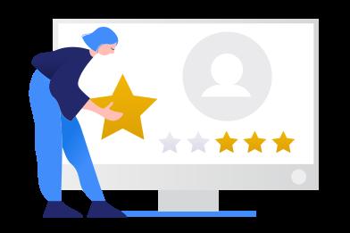 Иллюстрация Рейтинг в стиле  в PNG и SVG   Icons8 Иллюстрации