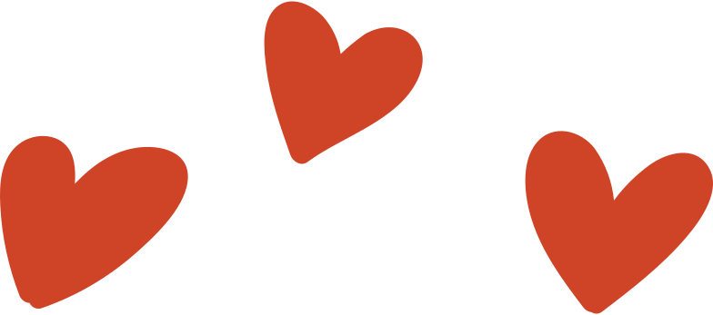 hearts Clipart illustration in PNG, SVG