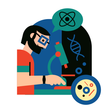 style Biologist images in PNG and SVG | Icons8 Illustrations