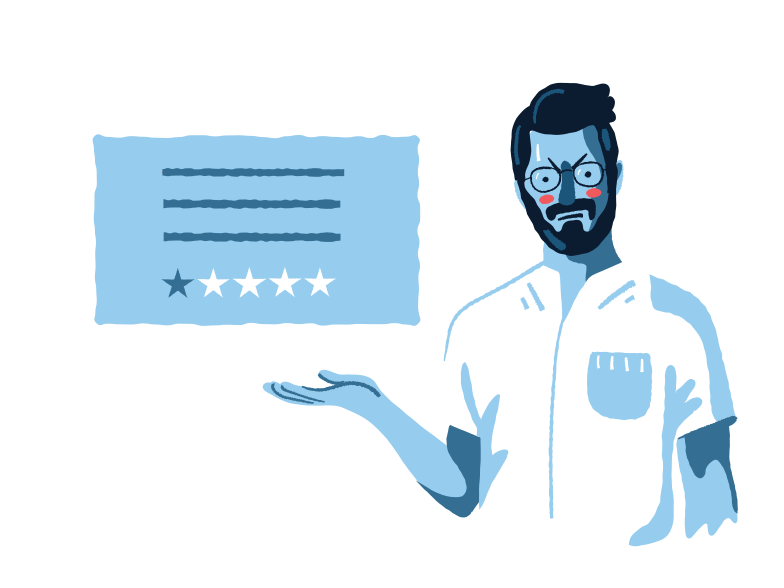 style Bad review  Vector images in PNG and SVG | Icons8 Illustrations