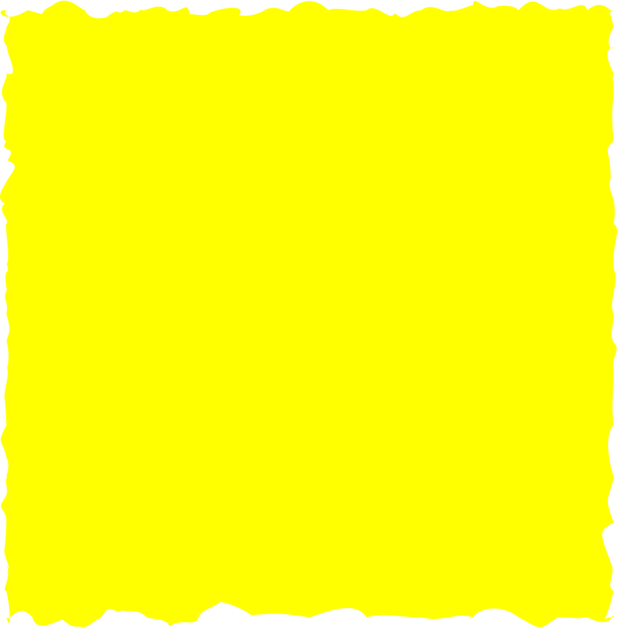 square yellow Clipart illustration in PNG, SVG