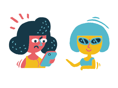 style Friends meeting images in PNG and SVG | Icons8 Illustrations