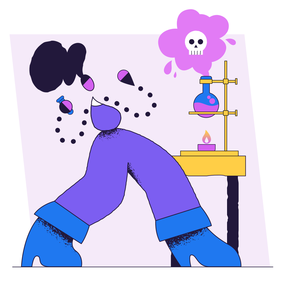 Failed experiment Clipart illustration in PNG, SVG