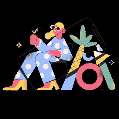 Иллюстрации в стиле Pablo в PNG и SVG | Иллюстрации Icons8
