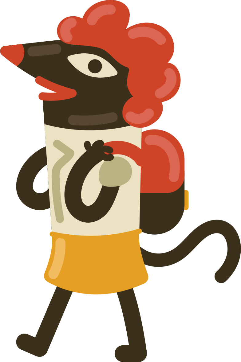 schoolgirl Clipart illustration in PNG, SVG