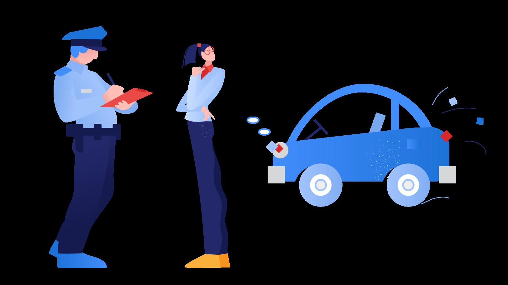Traffic ticket Clipart illustration in PNG, SVG