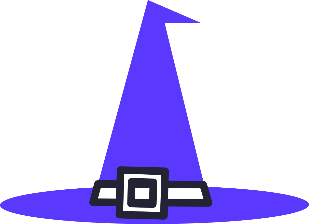 halloween preparation  witch hat Clipart illustration in PNG, SVG