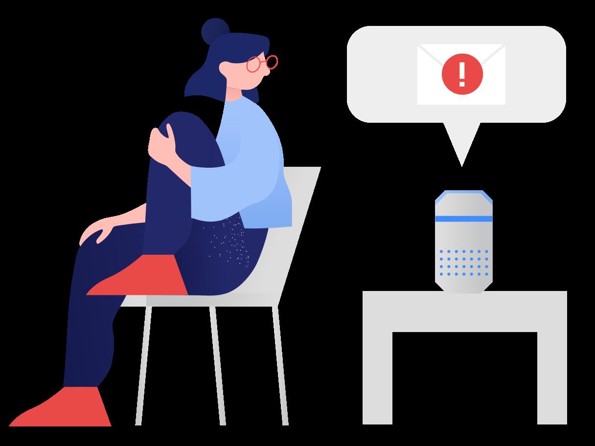 Smart speaker Clipart illustration in PNG, SVG