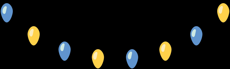 xmas lights Clipart illustration in PNG, SVG