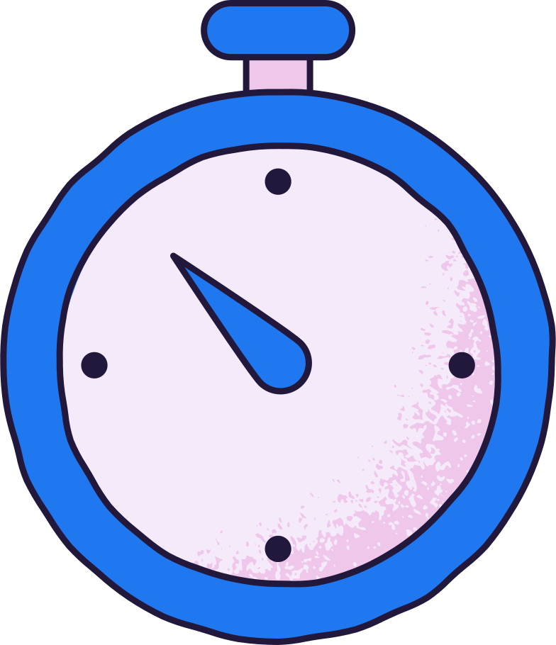 stopwatch Clipart illustration in PNG, SVG