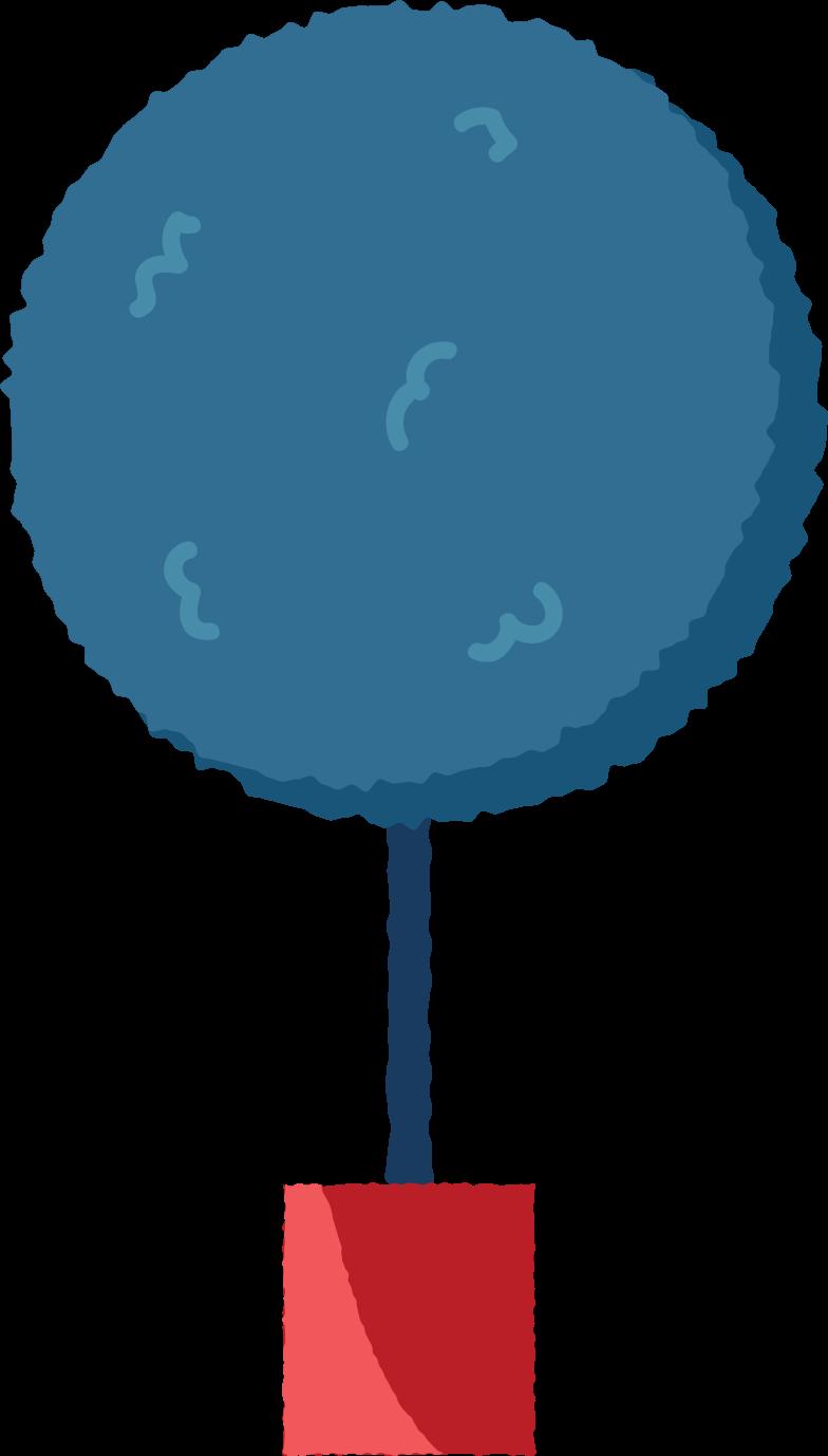flower tree Clipart illustration in PNG, SVG