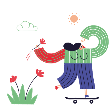 style Skateboarder images in PNG and SVG | Icons8 Illustrations