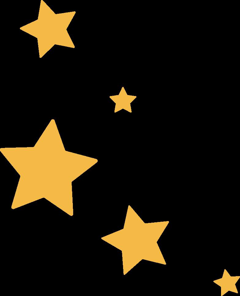 tk star five Clipart illustration in PNG, SVG