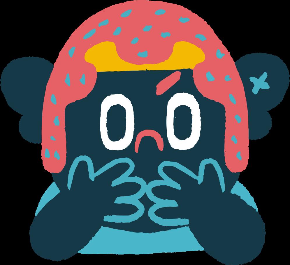 sad boy Clipart illustration in PNG, SVG
