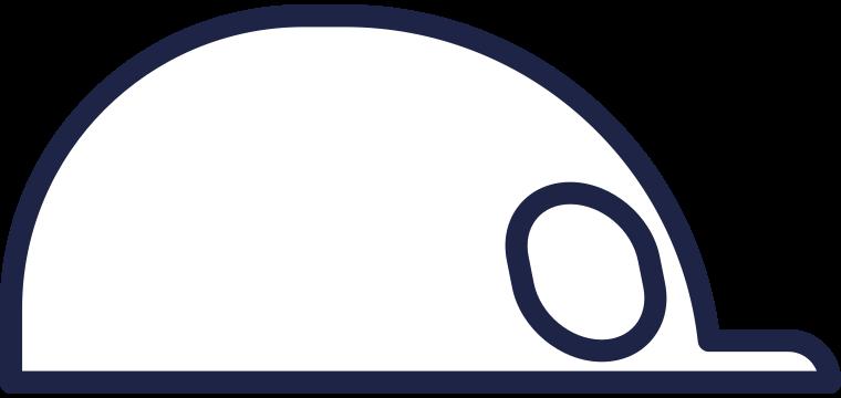 courier cap line Clipart illustration in PNG, SVG