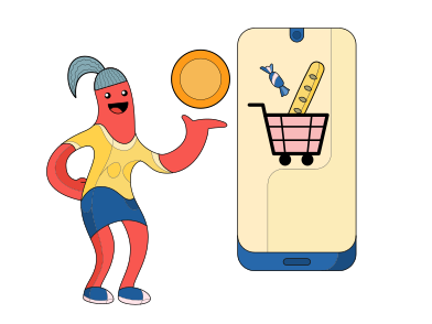 style Online shopping images in PNG and SVG   Icons8 Illustrations