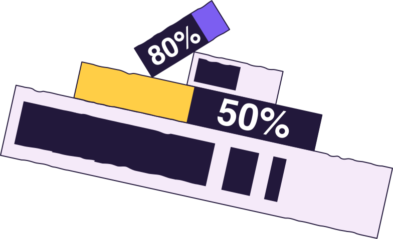 progress bars Clipart illustration in PNG, SVG