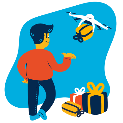 style Gift delivery images in PNG and SVG | Icons8 Illustrations