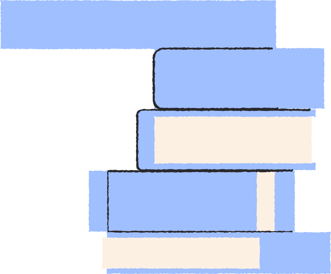 book stack Clipart illustration in PNG, SVG