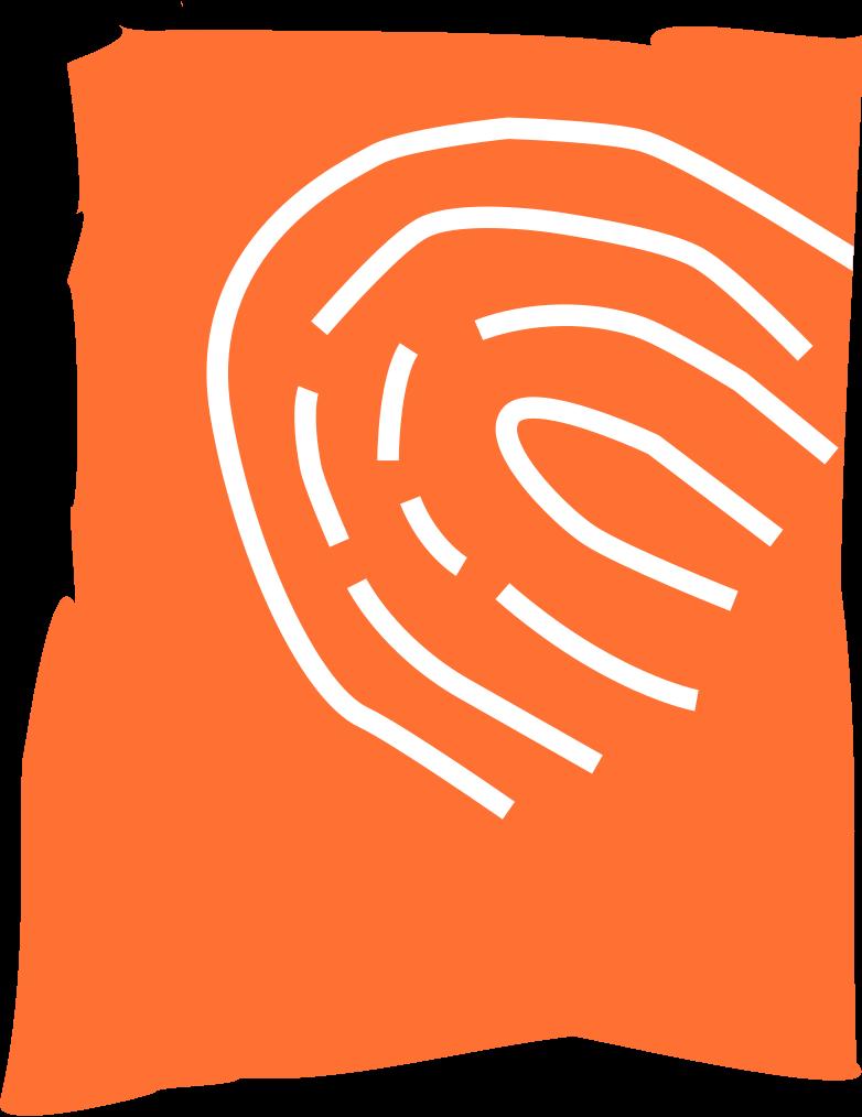 fingerprint Clipart illustration in PNG, SVG