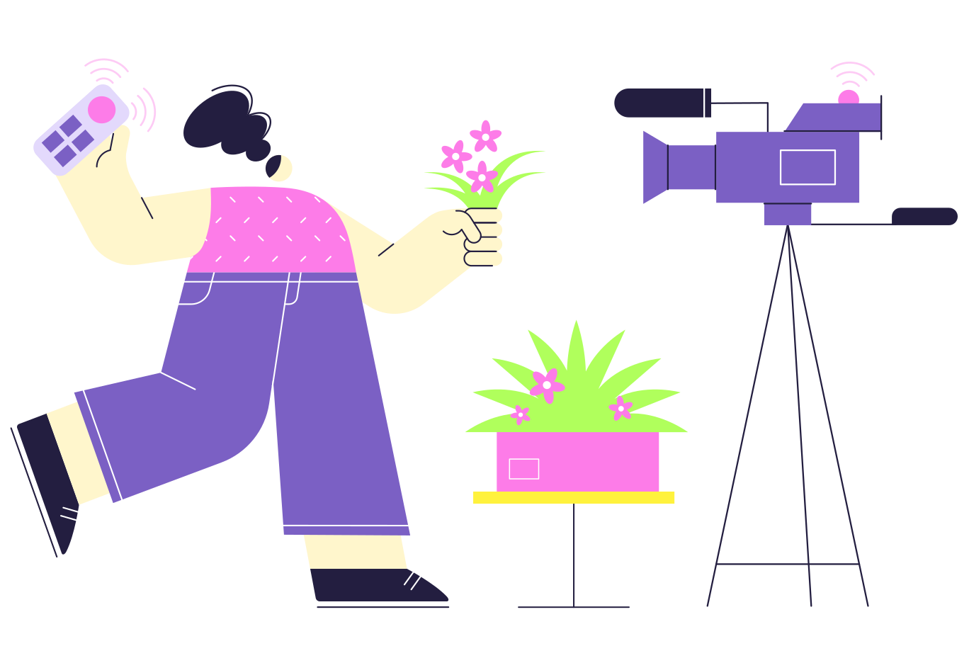 style Blog about plants Vector images in PNG and SVG | Icons8 Illustrations