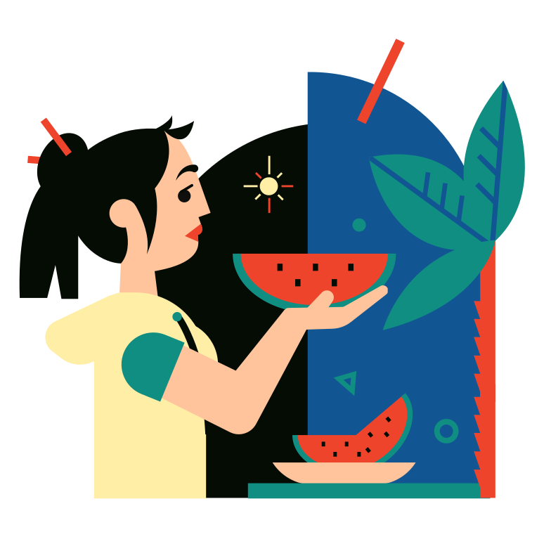 style Watermelon Season Vector images in PNG and SVG | Icons8 Illustrations