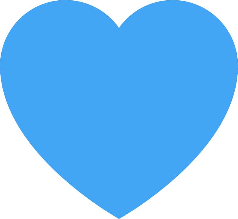 style heart blue Vector images in PNG and SVG | Icons8 Illustrations