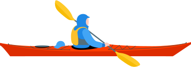 style kayaker images in PNG and SVG | Icons8 Illustrations