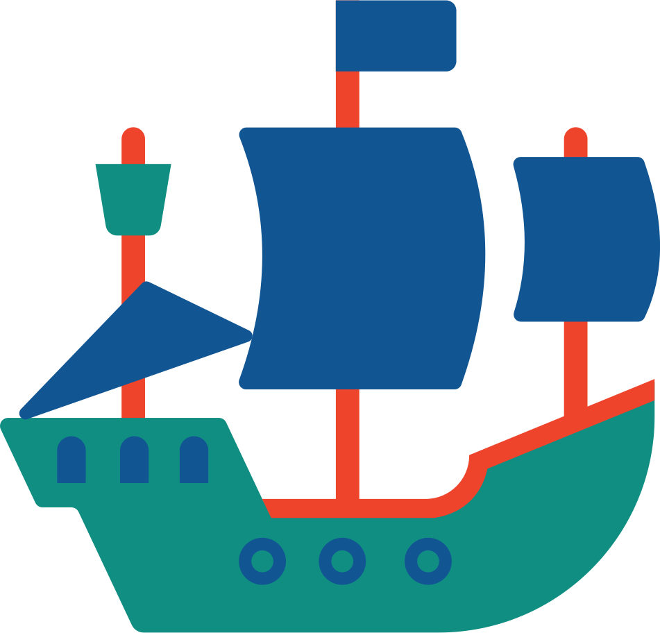 pirate ship Clipart illustration in PNG, SVG