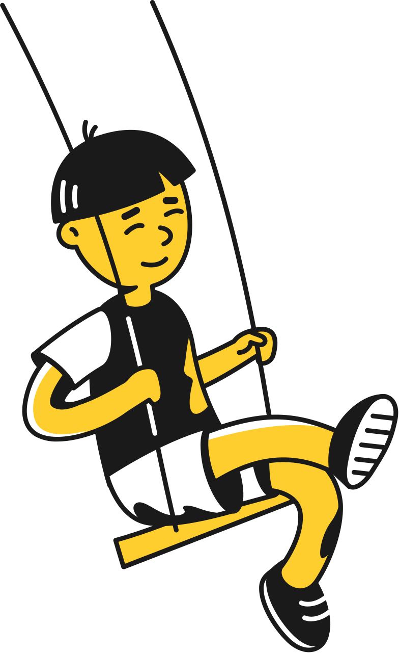 style kid on swings Vector images in PNG and SVG | Icons8 Illustrations