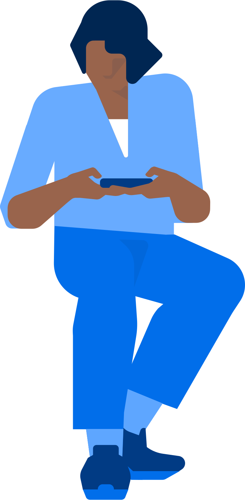 waiting man Clipart illustration in PNG, SVG