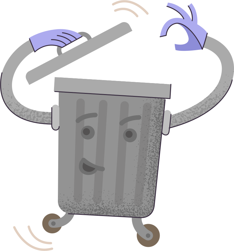 style trash-bin Vector images in PNG and SVG | Icons8 Illustrations