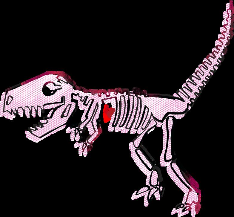 Immagine Vettoriale scheletro di dinosauro in PNG e SVG in stile  | Illustrazioni Icons8
