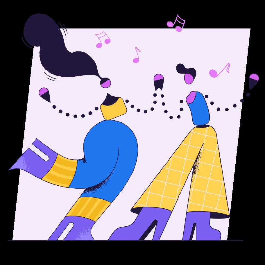 Tanzen Clipart-Grafik als PNG, SVG