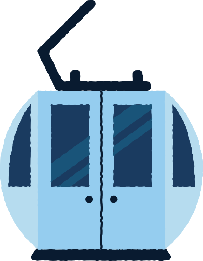 style ski lift cabin Vector images in PNG and SVG | Icons8 Illustrations