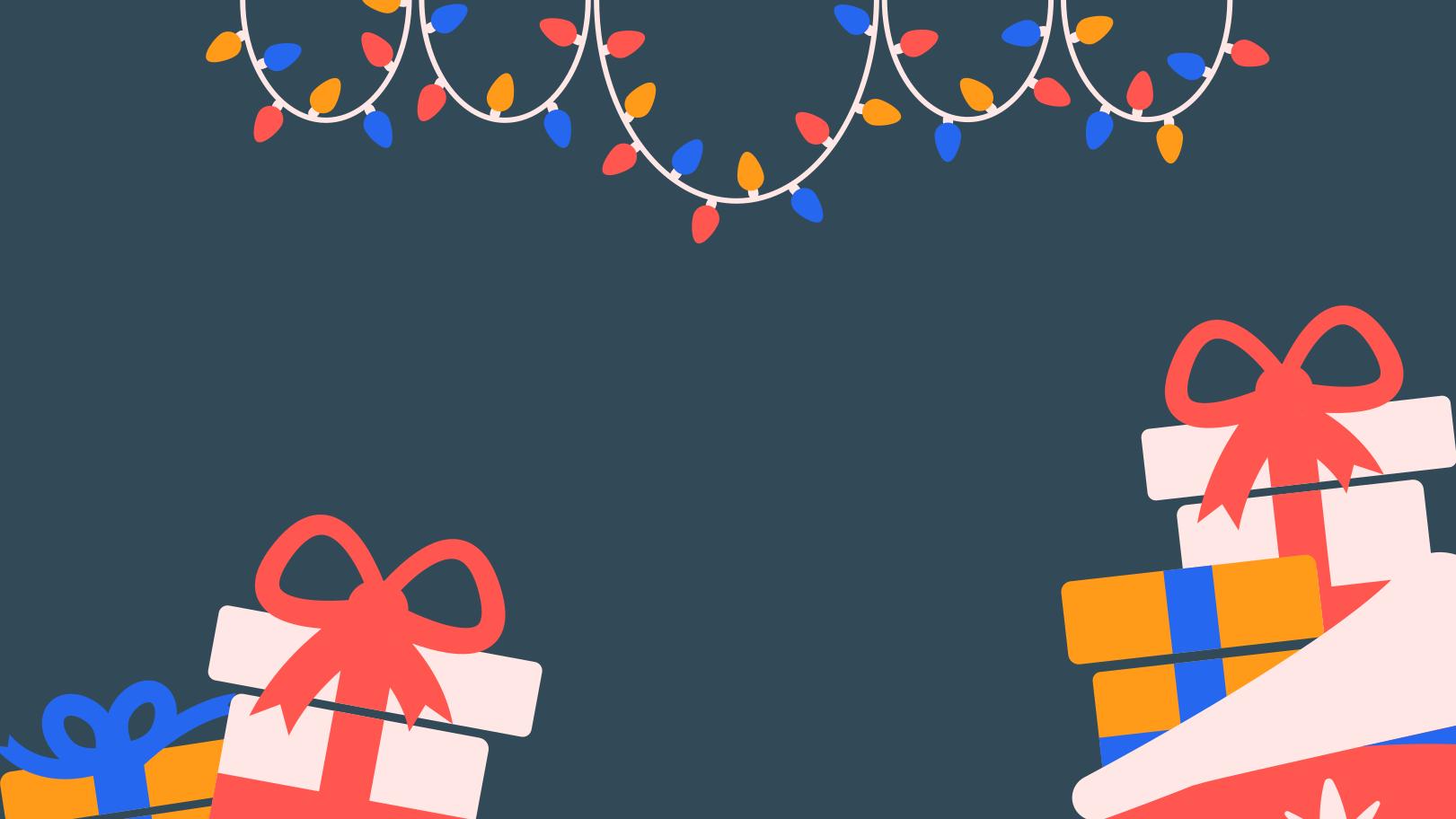 Ilustração de clipart de Presentes de natal em PNG e SVG