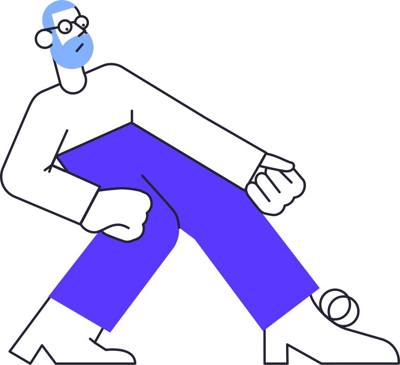 no connection  man Clipart illustration in PNG, SVG